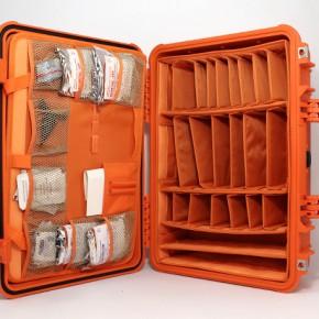 Органайзер, укладка в кейс пластиковый
