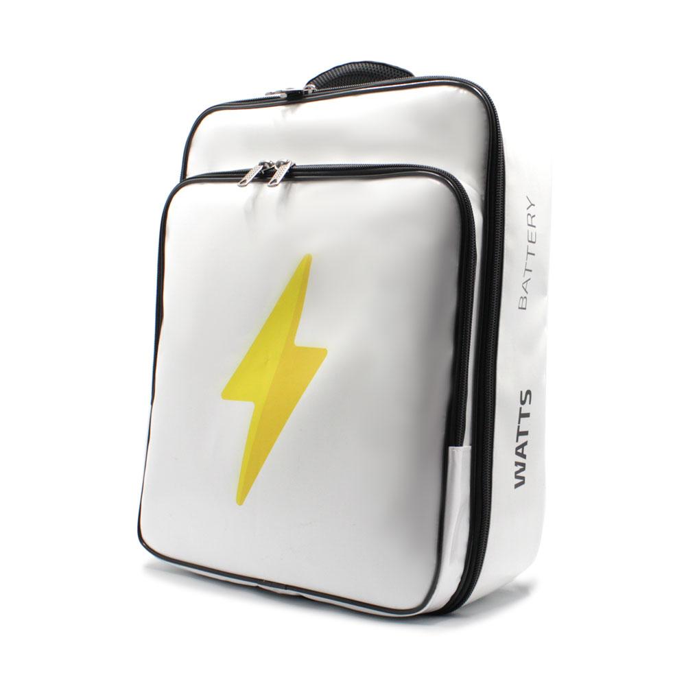 рюкзак для переноски персональной компактной электростанции сбоку