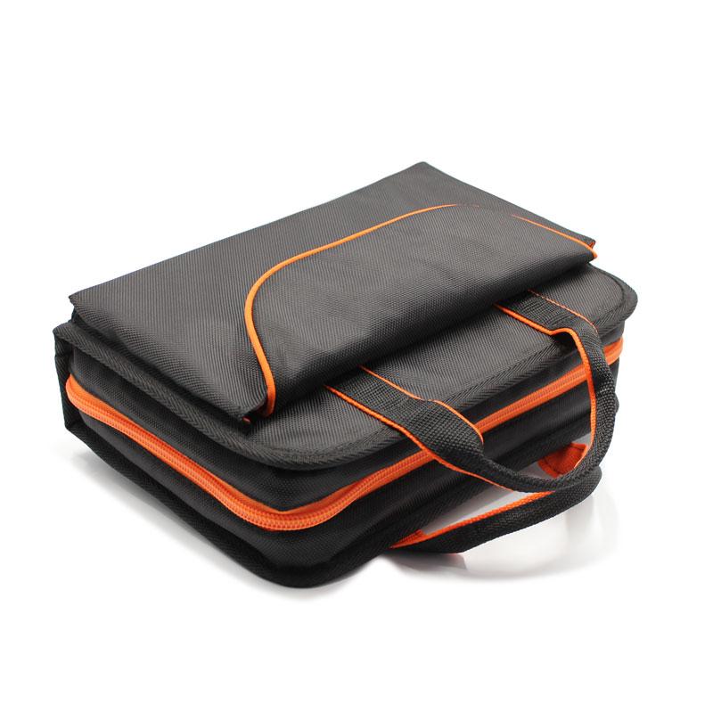 сумка для укладки комплекта медицинских приборов сверху