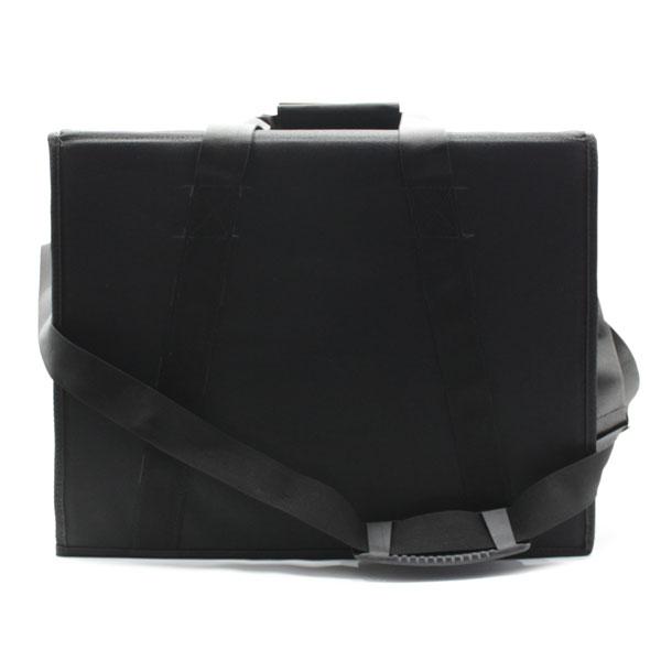 сумка кофр для переноски чёрная большая ремень