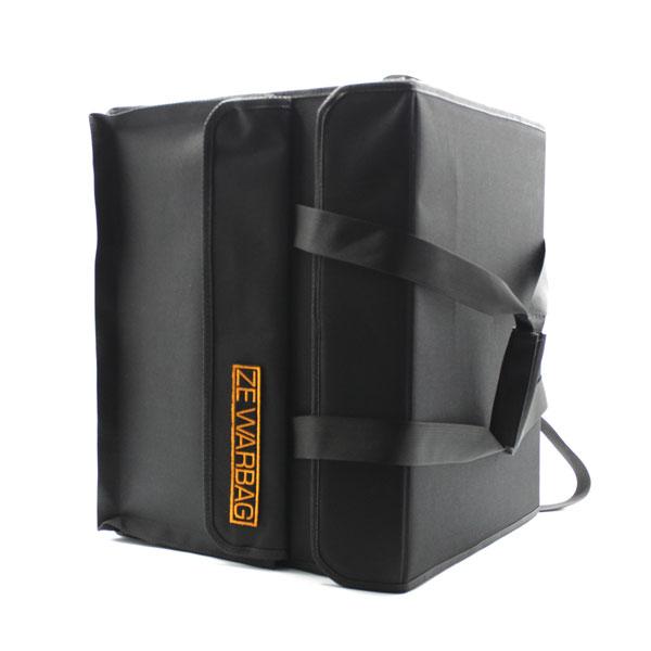сумка кофр для переноски чёрная большая